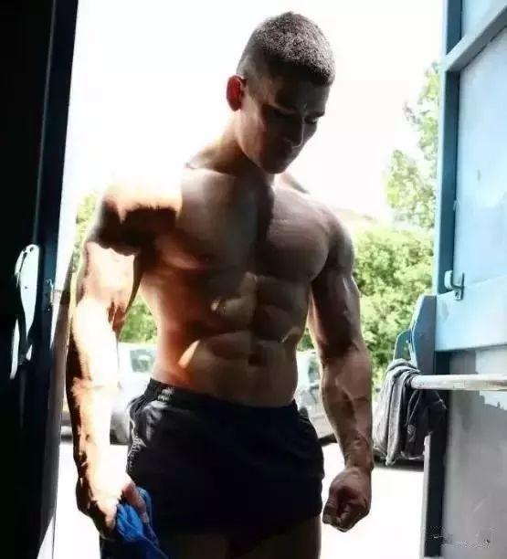 加布里埃尔·勒范(Gabriel Levan)肌肉男